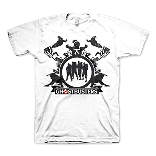 Men's Ghostbusters Team White T-Shirt