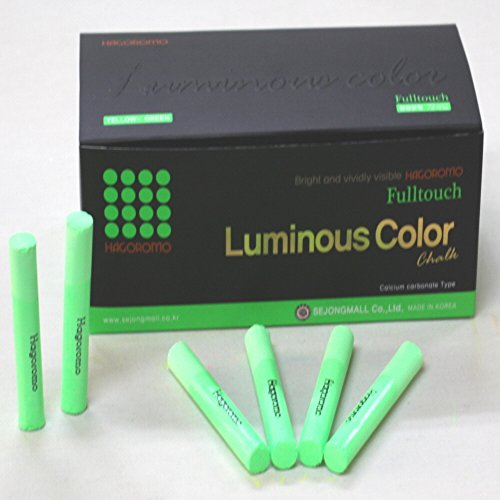 HAGOROMO Fulltouch Luminous Chalk 72pcs (Green)