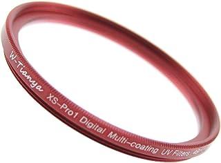 ZERO-PORT JAPAN 超薄枠設計 レンズ保護 ドレスアップフィルター マルチコート MC-UV フィルター『RED』 (62mm)