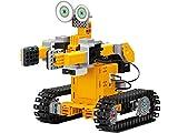 UBTech Jimu Robot TankBot Kit - Interaktiver Roboter-Bausatz für Kinder,  Modelbausatz mit 6 Servomotoren, App zum Programmieren & Bauen, Robotik, Ferngesteuerter Roboter zum Selberbauen - Gelb