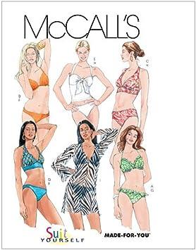 Mccalls motifs de coupe m4244-pyjama-court /& long-eau du bain et peignoir
