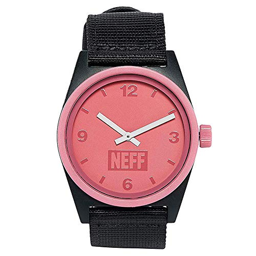 Neff Unisex Daily Analog Watch with Mesh Band for Men or Women