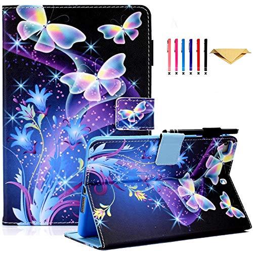 AUSMIX iPad Mini 5 Case,ipad Mini 4/3/2/1Case,ipad 7.9 Inch Case, Slim PU Leather Case with Auto Wake/Sleep Flip Stand Smart Wallet Cover for iPad Mini 1/ Mini 2/Mini 3/Mini 4/Mini 5,Butterfly