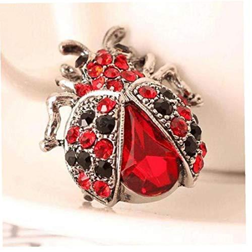 Hotaden Ladybug Brooch Brooch Wedding Female Fashion Jewelry