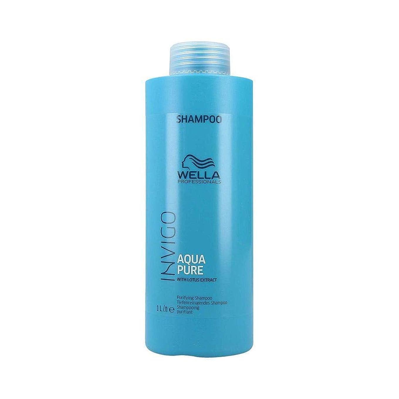 政治的大陸特徴づけるWella Invigo Aquaピュアシャンプー1000 ml