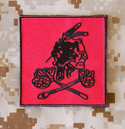 Seal Team 6 NSWDG DEVGRU Red Squadron VIP Protection Patch DEVGRU Red Version