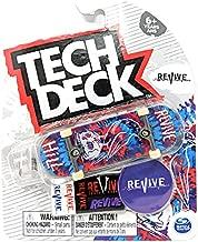 Tech-Deck 2021 Complete 96mm Fingerboard (Revive Skateboards John Hill Tie Dye Raven on Skull)