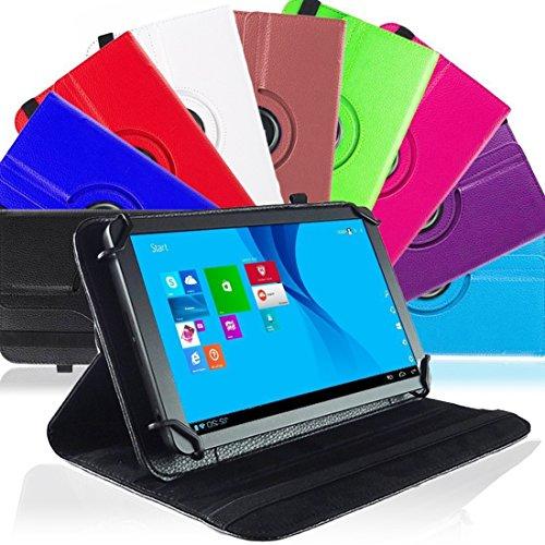 na-commerce Tablet Hülle MP Man MPW815 Tasche Schutzhülle Universal Hülle Cover Schutz Bag, Farben:Braun