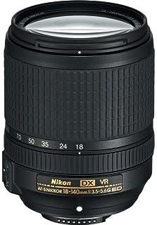 Nikon AF-S DX 18-140 mm f/3.5-5.6 G ED Vibration Reduction Zoom Lens with Auto Focus for DSLR Cameras International Version