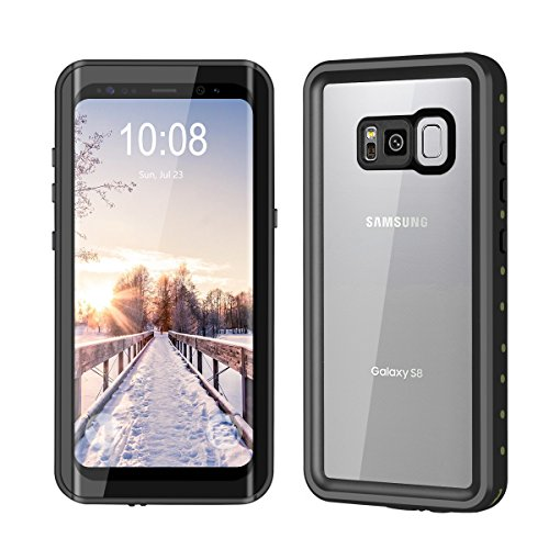 YMCCOOL Galaxy S8 Waterproof Case, Full Protective Shock/Snow/Dirtproof with IP68 Certified Waterproof Case for Samsung Galaxy S8 5.8inch