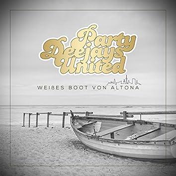 Weißes Boot von Altona