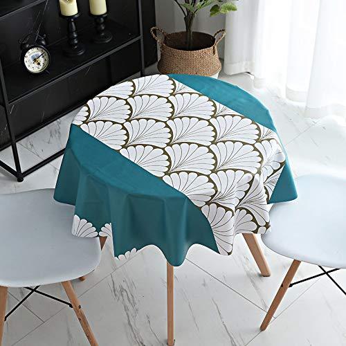 PhantasyIsland.com Carvapet Manteles Rectangular Mantel Manteles para Cocina Comedor Mesa Buffet 120cm