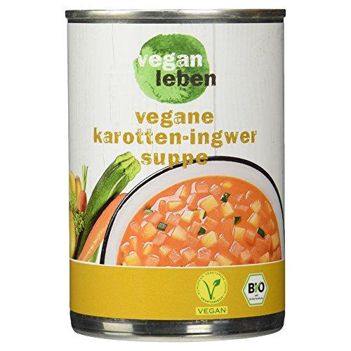 vegan leben Vegane Bio Karotte-Ingwertopf, 380 ml