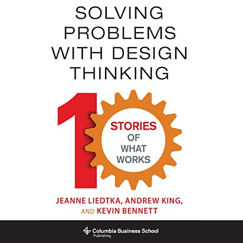 Solving Problems with Design Thinking audiobook cover art