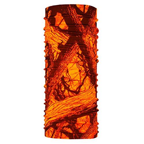 P.A.C. Original Inside/Out Jagd Multifunktionstuch - nahtloses, wendbares Mikrofaser Schlauchtuch, Schal, Kopftuch, Unisex, 10 Anwendungsmöglichkeiten