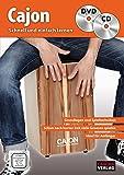 CASCHA Cajon - Schnell und einfach lernen + CD + DVD - Cascha