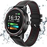 COLMI Smart Watch, Wearable Wrist Watch with All-Day Heart Rate Blood Pressure Monitor, Waterproof Fitness Tracker for Men Women, Bluetooth Pedometer Compatible Andriod iOS
