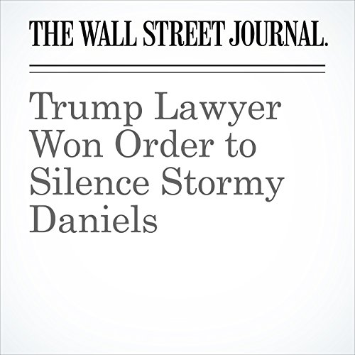 Trump Lawyer Won Order to Silence Stormy Daniels copertina