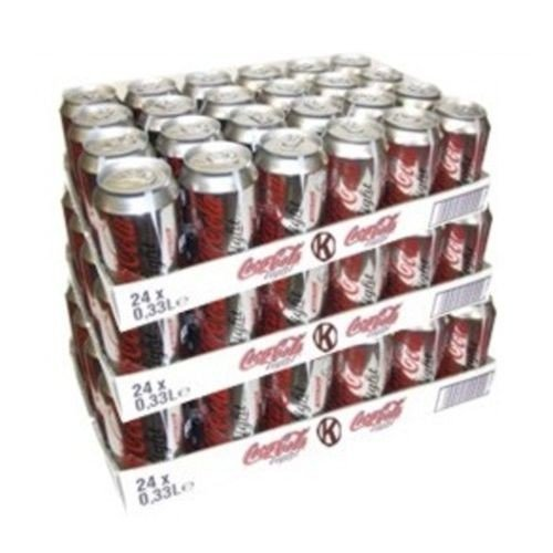 Coca Cola Light 72 x 0,33l Dose XXL-Paket (Coke Light)