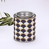 DQGZYF Vela perfumada de Lata portátil Vela de Soja perfumada de Viaje para Eliminar el Olor y el Polvo 2 PiezasC