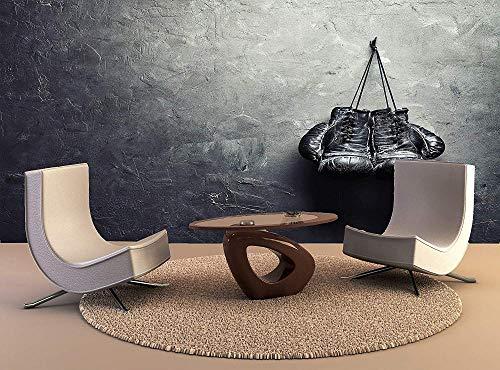 Vliestapete 3D Boxhandschuhe Mauer Fresco Foto Fernseher Sofa Hintergrund Seide Wandmalerei,Kunst Tapeten für Einrichtung 400cm(W) x280cm(H)-8 Stripes