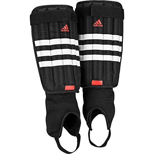 adidas Evertomic Schienbeinschoner, Black/White/Solar Red, XL