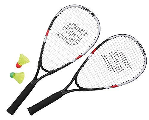Sunflex Sonic Speed Set II Badminton Set schwarz Einheitsgröße