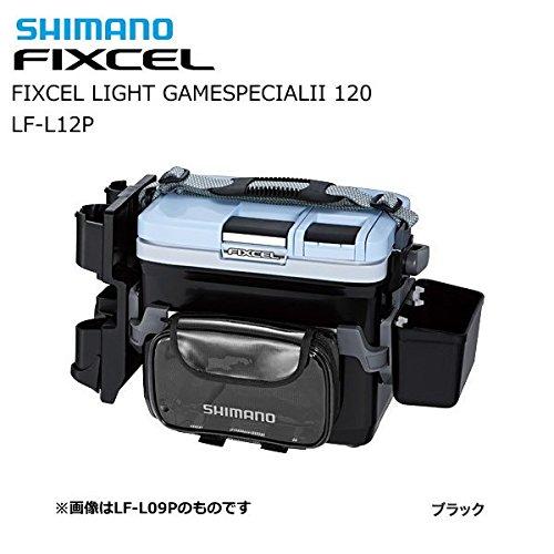 シマノ(SHIMANO) クーラーボックス 小型 12L フィクセル ライトゲームスペシャル2 120LF-L12P 釣り用 ブラック