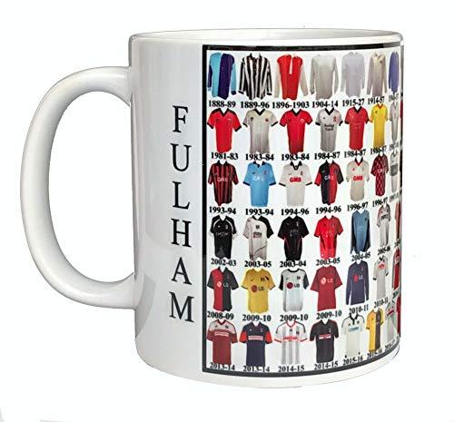 Fulham Mug Fulham Shirt History Mug Ceramic Mug Football Mug