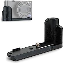 JJC Grip de Metal para Sony DSC Series RX100 Mark VI VA V IV III II - RX100 M6 M5A M5 M4 M3 M2 reemplazar Sony AGR2 (Negro)