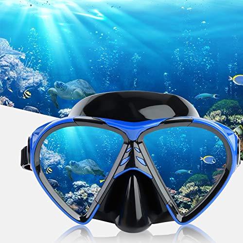 Tbest Gafas de Buceo Antivaho,Máscara de Buceo Gafas de Snorkel con Escafandra de Buceo Profesionales de Silicona para Hombres y Mujeres Gafas de Snorkel para Adultos Jóvenes