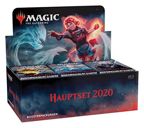 Magic The Gathering - Juego principal 2020 M20 – Boosters / Display Selección | Alemán | Juego de cartas coleccionables TCG Booster: 6 unidades