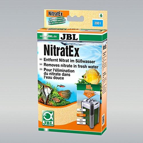 JBL - NitratEx Filtermasse für schnelle Nitrat-Entfernung + (170 g) binden 9000 mg Nitrat.
