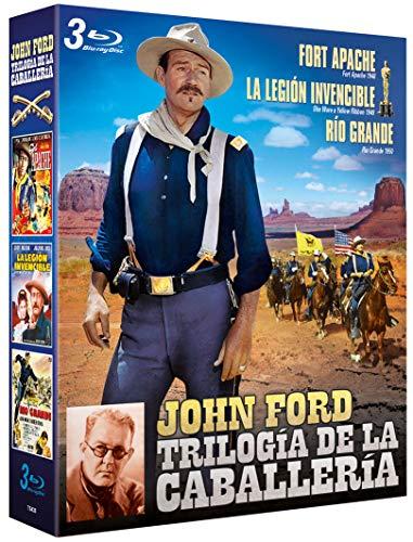 Trilogía de la Caballeria de John Ford 3 BDs Fort Apache + La Legión invencible + Río Grande [Blu-ray]