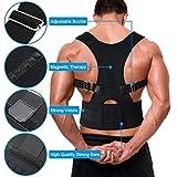 Buyerzone Royal Posture Back Supported Brace (Xl Size)