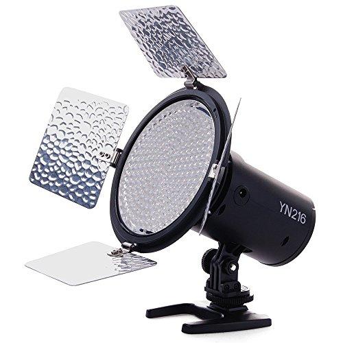 Yongnuo YN216 Pro LED Studio Video Light Luz Lámpara para Canon Nikon...