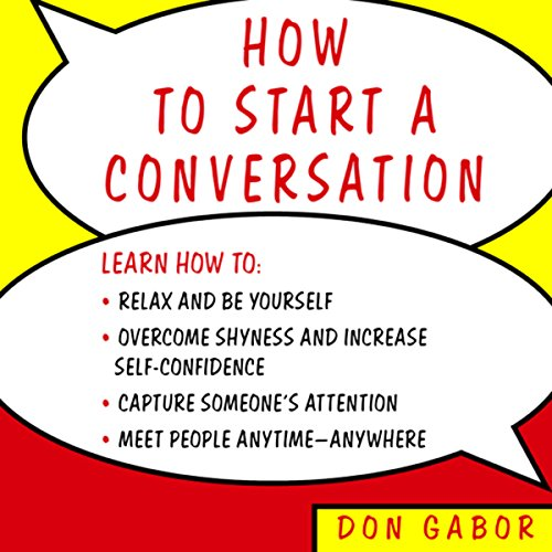 How to Start a Conversation audiobook cover art