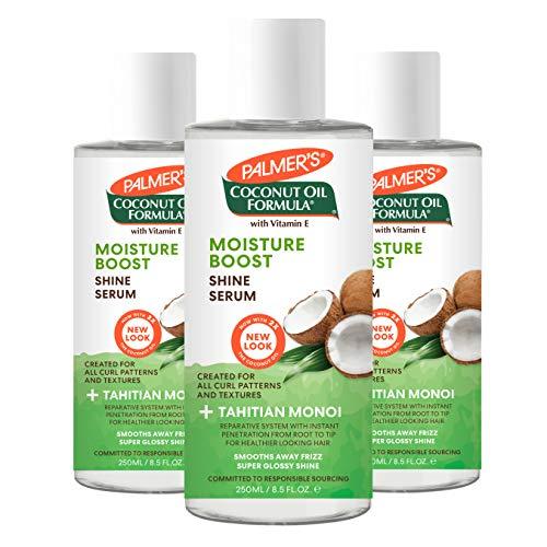 Palmer's Coconut Oil Formula Moisture Boost Hair Shine Serum, 6 Ounce (Pack of 3)