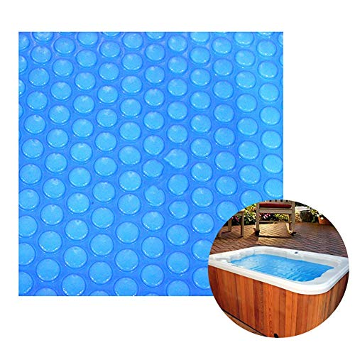 HH- Bâches Couverture Solaire Bleue pour Piscine Hors Terre Rectangulaire, Économie D'énergie D'isolation et Protection de l'environnement (Size : 4×8m)