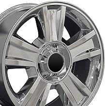 OE Wheels 20 Inch Fits Chevy Silverado Tahoe GMC Sierra Yukon Cadillac Escalade CV86 Chrome 20x8.5 Rim Hollander 5416
