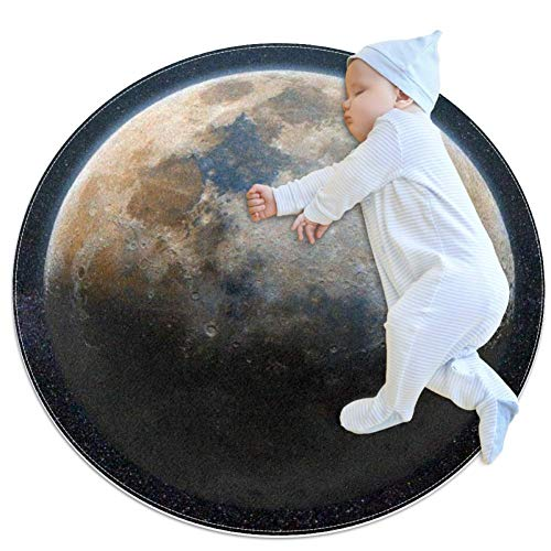 Moon Stars Space Baby Play Mats - Baby Crawling Mats for Boys and Girls - Children's Room Decor for Play Carpet Floor Carpets