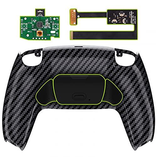 eXtremeRate Programowalny zestaw Rise Remap do kontrolera PS5 BDM-010, tylna obudowa/przyciski do kontrolera Playstation 5 (Carbon Fiber) nie wchodzi w zakres dostawy