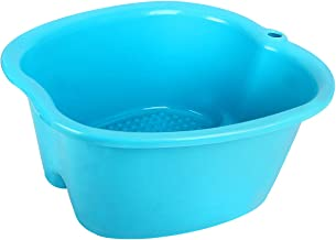 Foot Bath Tub, ESARORA Upgrade Thick Sturdy Plastic Spa Basin for Pedicure and Massage – Perfect to Soak Your Feet, Toe Nails, and Ankles