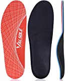 Zapatos Plantillas-Mujer-Hombre-arco-soporte Ortopédicas Plantillas Alivio del dolor en el pie para la fascitis plantar, pie plano, espolones en el talón (37-38 EU (240mm), Orange-V125)