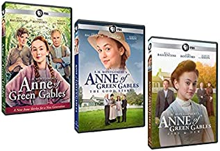 The Complete L.M. Montgomery's Ann of Green Gables PBS Trilogy DVD Collection: Anne of Green Gables / Anne of Green Gables: The Good Stars / Anne of Green Gables: Fire & Dew