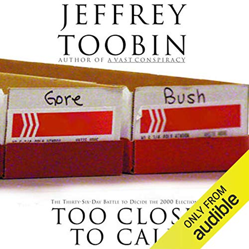 Too Close to Call audiobook cover art