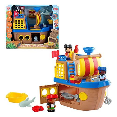 PlayGo 46397 Piratenschiff mit Licht und Sound, Sin Talla