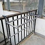 Mesas de Café Los estantes flotantes 120 * 37cm Balcón marco for colgar la tabla, plegable de pared Workbench 90 soportes plegables Grado de altura ajustable (color: 120 * 37cm) ( Color : 120*37cm )