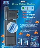 Mini Green Killing Machine - Filtro UV esterilizador para Acuario con Foco UV de...