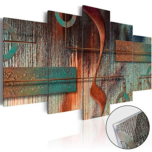 Abstract Canvas Wall Art Contemporary Vintage Print Melody...